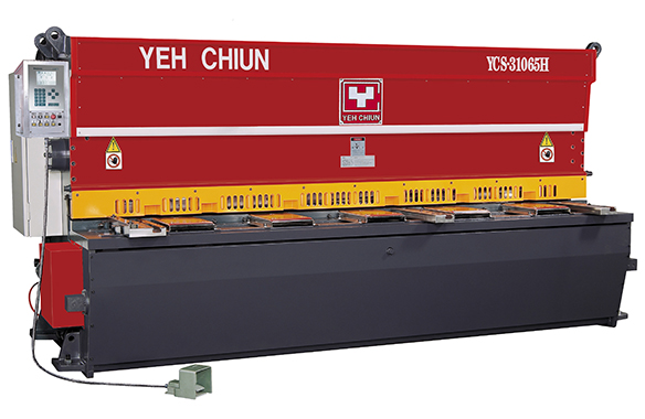YCS-HD Type CNC Mutiple AXES Hydraulic Guillotine Shear YCS-H Series