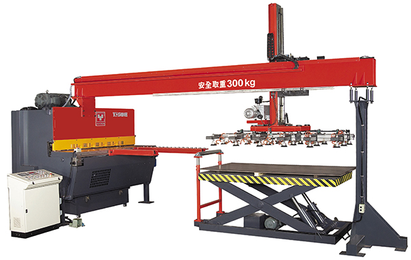 YCS-FR Type Automatic Hydraulic Shear Feed and Stacking Production Line YCS-F Series