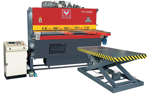 YCS-FA Type Automatic Hydraulic Shear Feed and Stacking Production Line